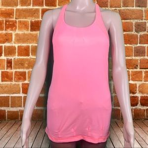 Lululemon Pop Orange Practice Freely Tank